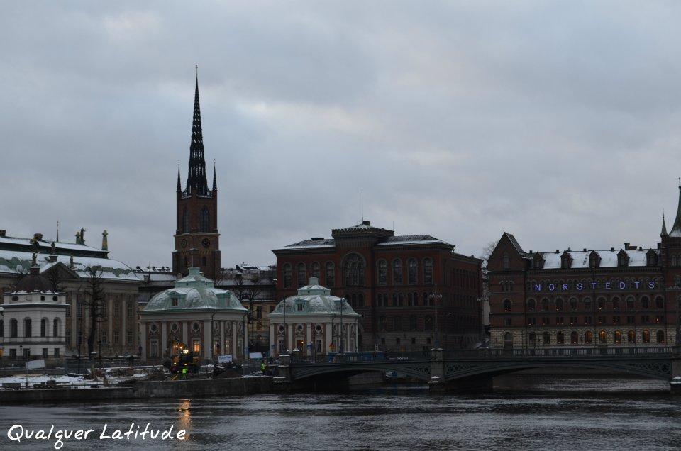 um dia em Estocolmo