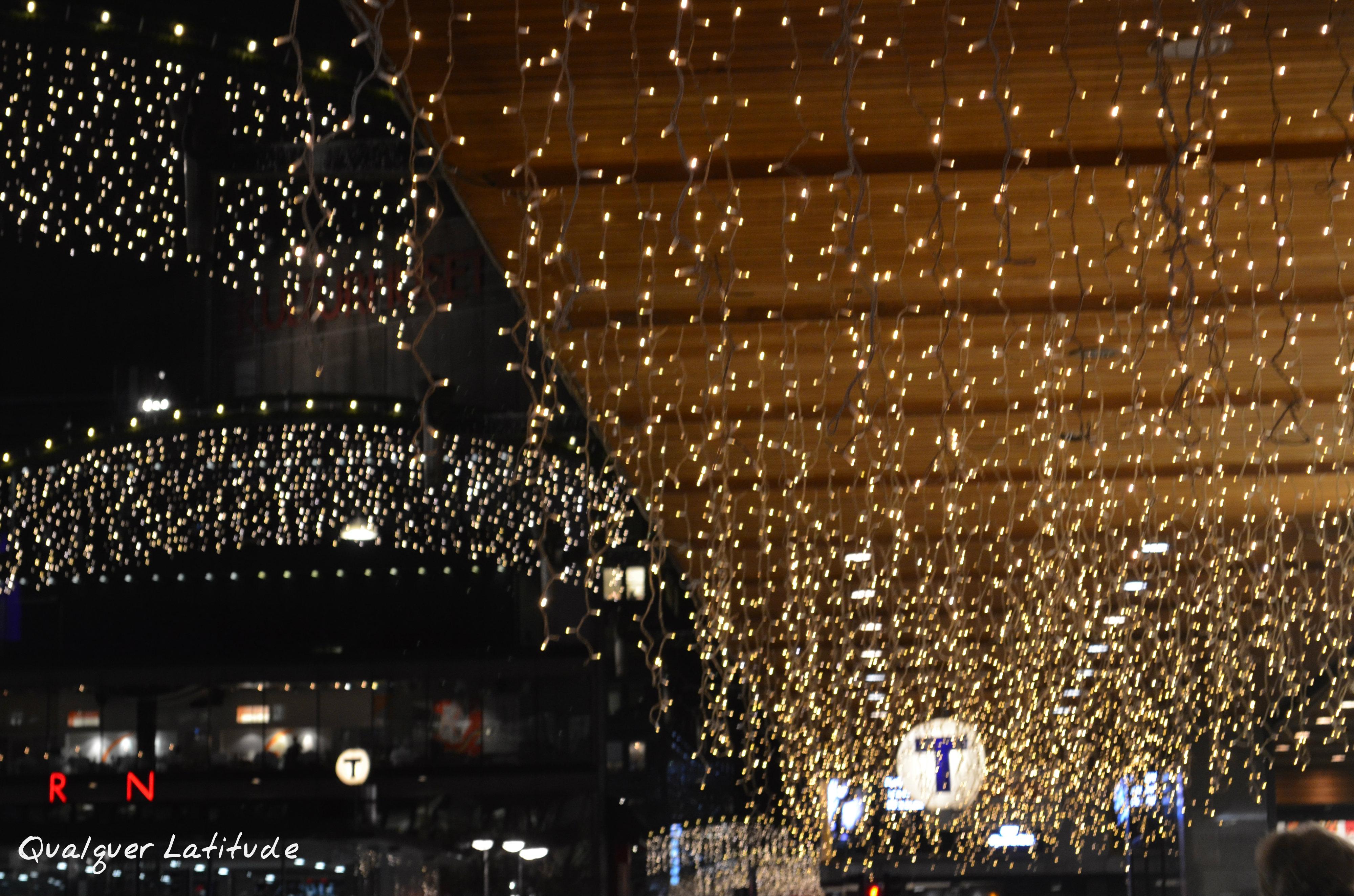 Luzes de Natal Estocolmo